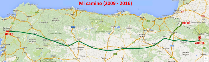 Hacer el Camino sola. Camino Aragonés. Camino Francés