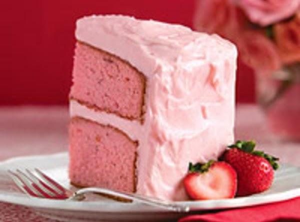 Strawberry Preserve Cake Recipe
