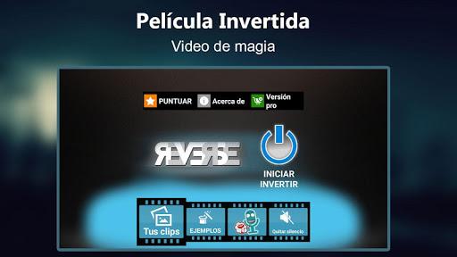 Película Invertida video magia screenshot 3