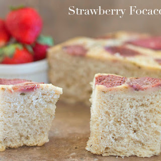 Slow Cooker Strawberry Foccacia