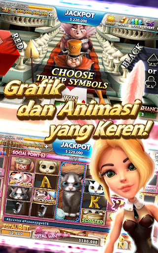 Full House Casino: Lucky Jackpot Slots Table Games 1.2.36 screenshots 4
