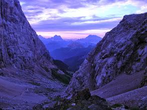 Photo: Passo Ombretta, grupa Marmolady, włoskie Dolomity - w tle Antelao, Pelmo i Civetta