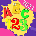 A B C . 123 . English For Kids 2021 icon