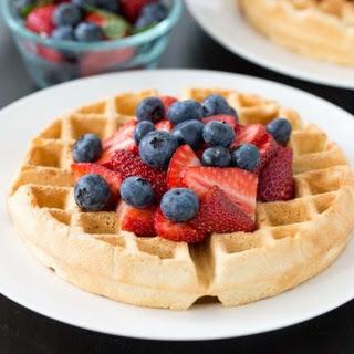 Healthy Belgian Waffles Recipes