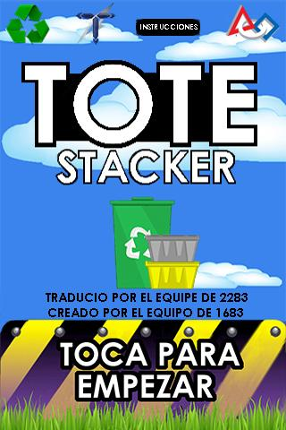 Tote Stacker:FRCGame Espanol