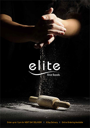 Elite Fine Foods 2017 catalogue cover