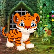 Cute Tiger Cub Rescue Best Escape Game-313