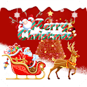 Christmas Santa Red icon