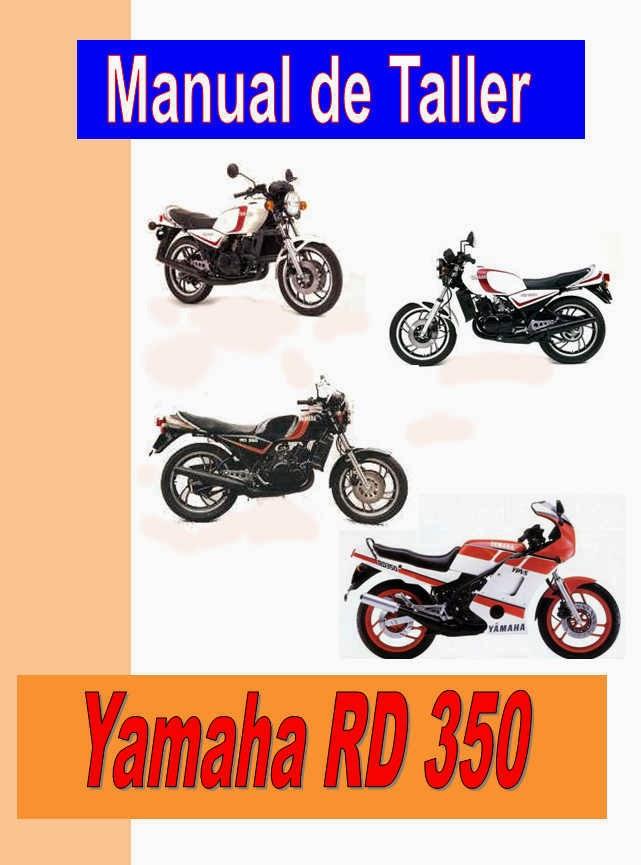 Yamaha RD 350-manual-taller-despiece-mecanica