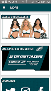 Eagles Official Mobile- screenshot thumbnail