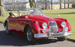 Jaguar XK150 Rent East Midlands