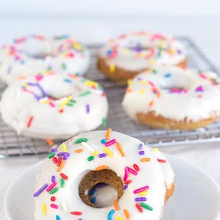 Baked Vanilla Coffee Donuts