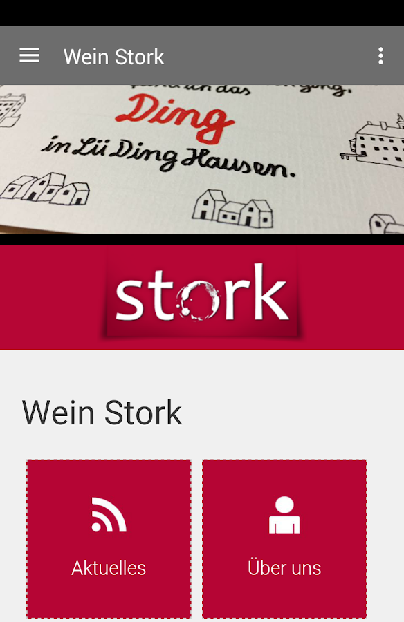 Wein Stork- screenshot