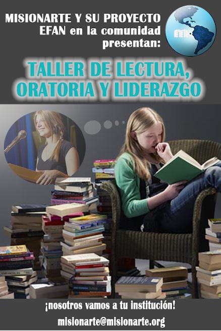 Taller de lectura, Oratoria y Liderazgo