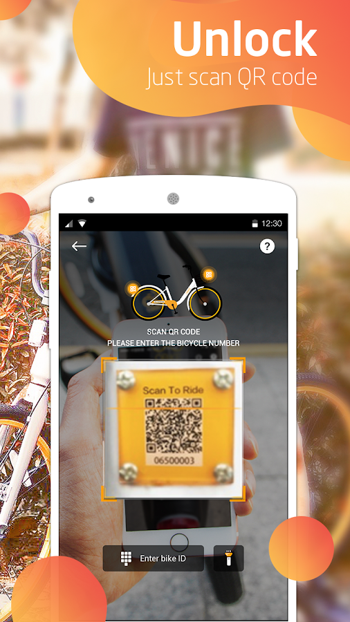 oBike-Stationless Bike Sharing- screenshot