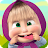 Masha and the Bear: Kids Games logo