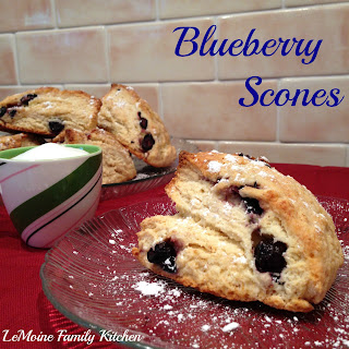Afternoon Tea Blueberry Scones