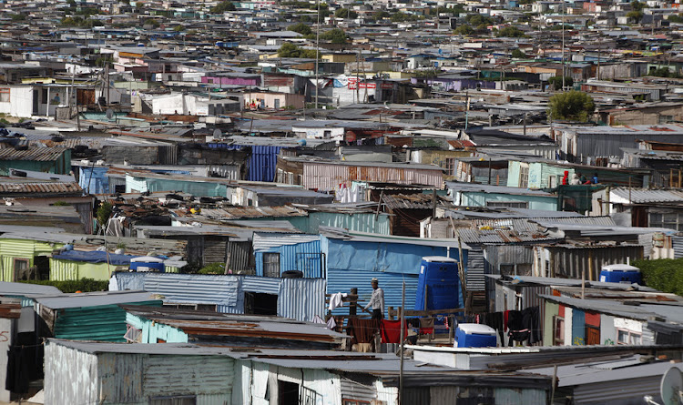 More than half of South Africans live below the national poverty line of R992 per month.