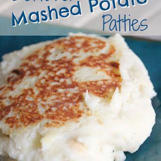 Leftover Mashed Potato Patties.