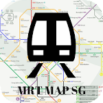 Singapore MRT Map 2017 Icon