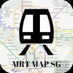 Singapore MRT Map 2017 Icon