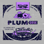 Two Roads Tanker Truck Sour Series: Plum Gose