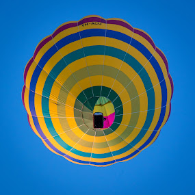 Overhead by Gary Tindale - Transportation Other ( colour, sky, transport, rings, festival, square, balloon,  )