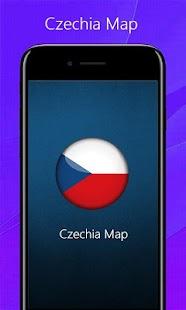 Czechia Map - náhled