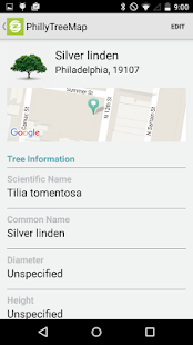 OpenTreeMap- screenshot thumbnail