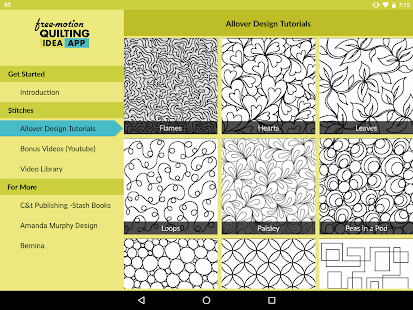 Free-Motion Quilting Idea App- screenshot thumbnail
