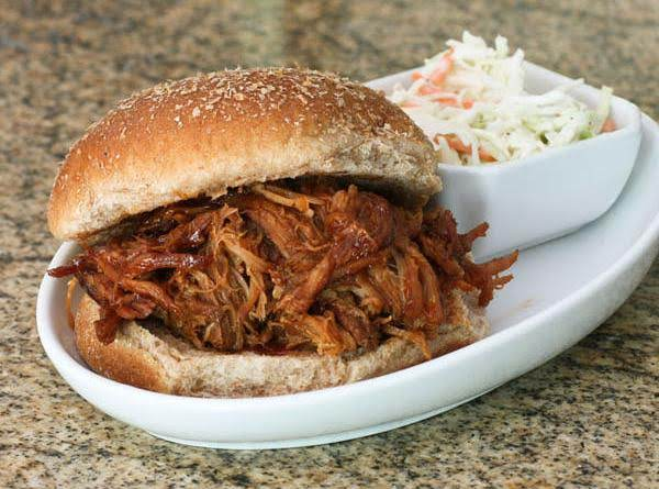 Timboman's Chubby Joes (bbq Pulled Pork Or Beef)