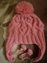 Photo: вязаная детская шапочка