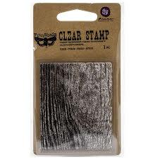 Prima Finnabair Clear Stamp 2.5X3 - Wood