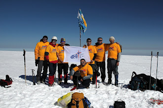 Photo: ФСТ АК - Федерация спортивного туризма Алтайского края. Вершина Сутай - самый южный четырехтысячник Монголии.