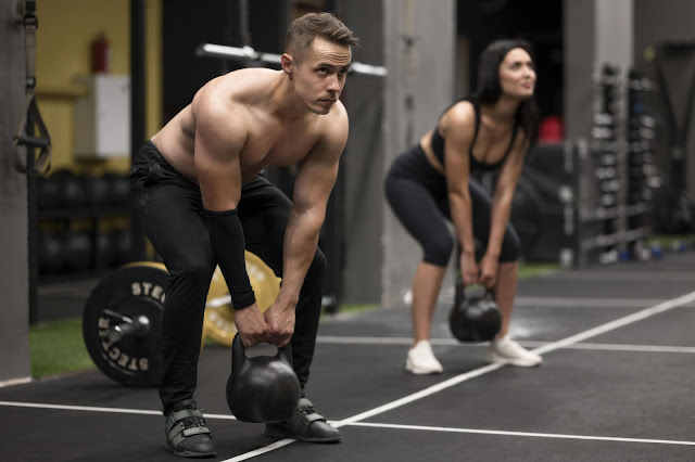 Couple training for muscles gain
