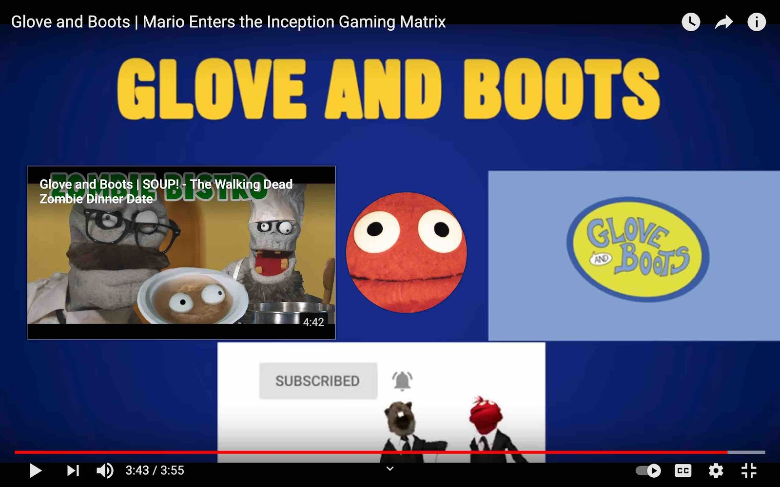 Subscribe to Glove and Boots