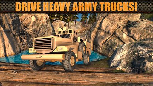 軍トラックオフロードドライバー