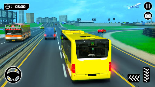 City Passenger Coach Bus Simulator screenshot 11