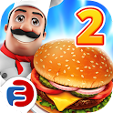 Food Court: Burger Shop Game 2 icon