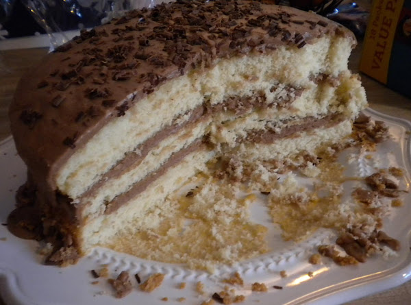 Bonnie Butter Cake With Mocha Frosting Recipe