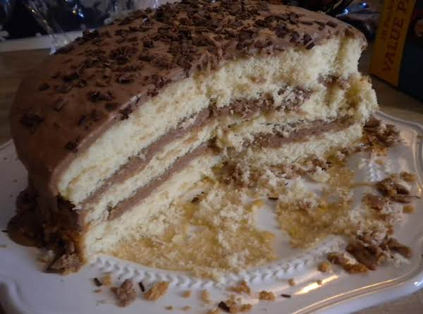 Bonnie Butter Cake With Mocha Frosting