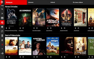 Screenshot of Tv Vodafone