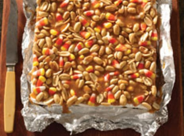 Trick Or Treat Salted Nut Bars Recipe
