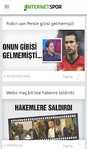İnternet Spor screenshot 0