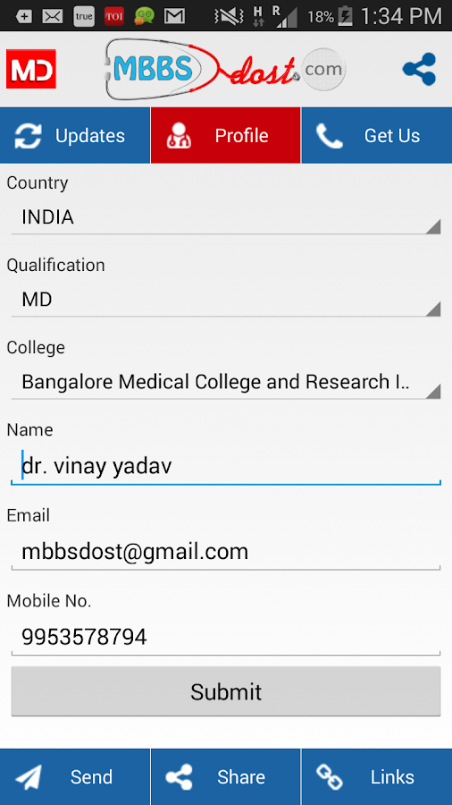 Mbbsdost Medical Study- screenshot
