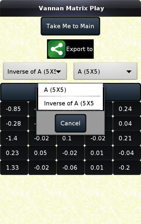 Linear Algebra (Matrix)- screenshot