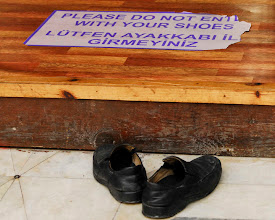 Photo: Shoes At a Mosque