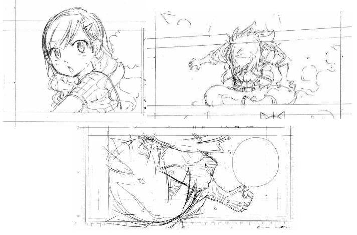 Bosquejos del nuevo manga de Hiro Mashima.