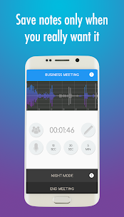 Meeting Notes Taker – Recorder, memo and minutes 4