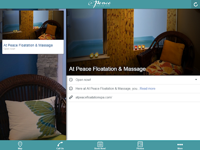 At Peace Floatation & Massage- screenshot thumbnail